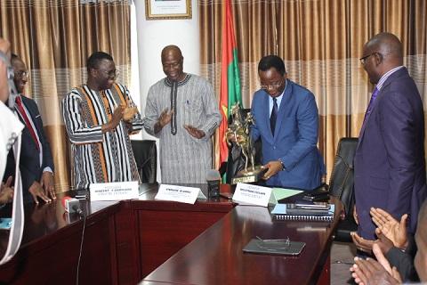 Ministère des Transports: Vincent Dabilgou aux commandes