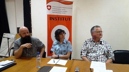Cinéma: l'Institut IMAGINE initie des techniciens aux secrets du son