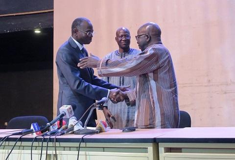 «Je m'engage à être un ministre pour la lutte», dixit Clément Sawadogo, ministre de la sécurité