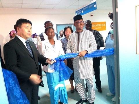 Burkina: Le  deuxième centre d'hémodialyse inauguré