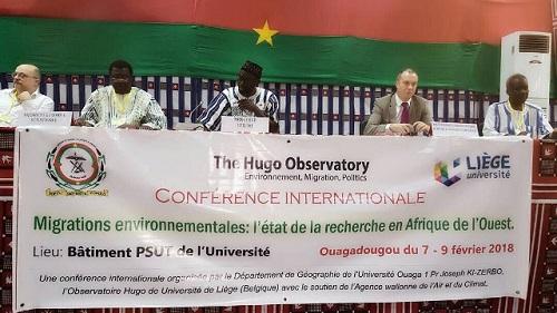 Migrations environnementales: L'Université Ouaga I Pr Joseph KI-ZERBO et l'Observatoire Hugo de l'Université de Liège s'engagent à réduire le phénomène
