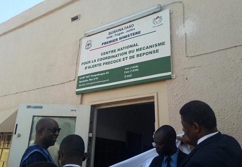 Crises dans l'espace CEDEAO: Le Centre d'alerte précoce et de réponse du Burkina est désormais opérationnel