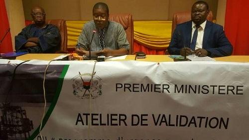 Lutte contre la pauvreté: Concertation à Ouaga sur la mise en place d'une unité industrielle dans les secteurs porteurs