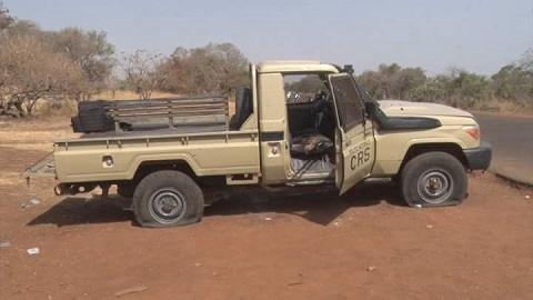 Région de l'Est: Deux policiers blessés et un autre tué dans une attaque à Natiaboani