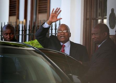 Afrique du Sud: Le président Jacob Zuma contre sa destitution