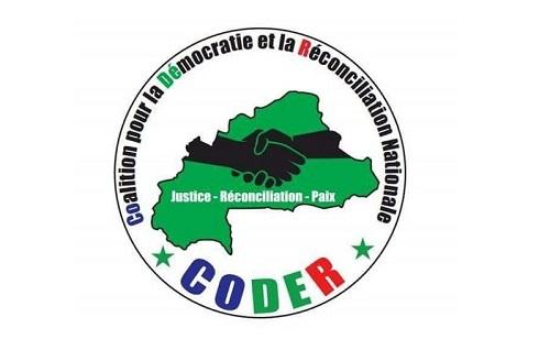 Politique: La CODER a proposé son «Mémorandum pour la réconciliation nationale» au président du Faso