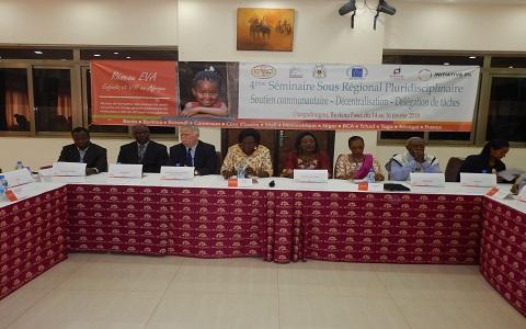 Enfants et VIH en Afrique: Le 4è séminaire sous régional pluridisciplinaire du réseau EVA a ouvert ses portes
