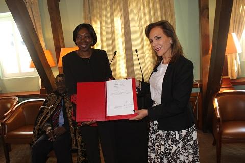Coopération internationale: Le nouveau consul honoraire du Burkina Faso au Luxembourg a pris fonction