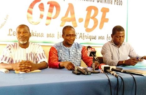 Burkina: L'OPA-BF, ce parti qui veut révolutionner le  continent africain