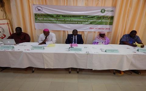Union fraternelle des croyants de Dori (UFC-Dori): Le projet «agir ensemble pour une coexistence pacifique dans un environnement mieux sécurisé au Sahel», officiellement lancé