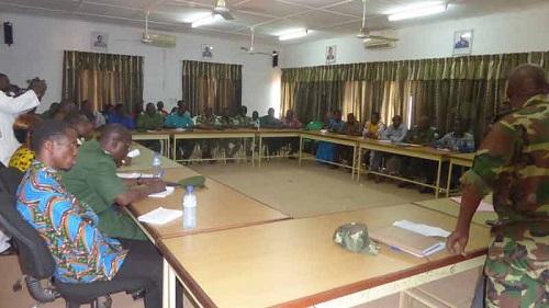 Revalorisation de l'Ecole Nationale des Eaux et Forêts: Le ministre Nestor Batio Bassiere s'entretient avec les élèves