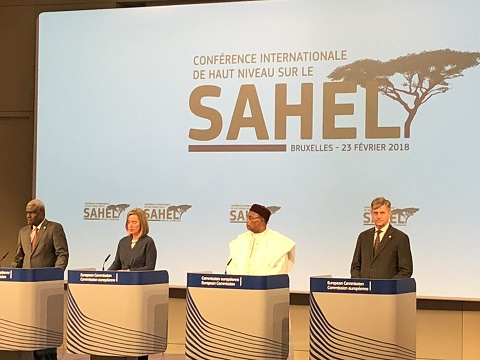 Conférence internationale de haut niveau sur le Sahel - Communiqué des coprésidents