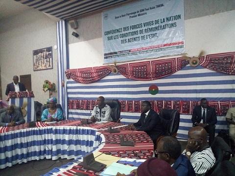 Fonction publique au Burkina: 21 jours pour diagnostiquer le système de rémunérations