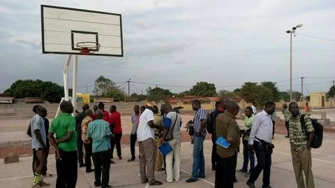 Plateau Omnisport de Yéguéré: «Les infrastructures réceptionnées sont de mauvaise qualité», a noté la mission de contrôle du ministère des sports