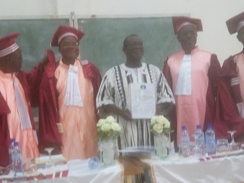 Education: Paul Taryam Ilboudo a soutenu sa thèse de doctorat unique en politiques éducatives