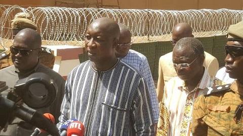 Attaque terroriste du 2 mars: Paul Kaba Thiéba dans les décombres de l'Etat-major général des Armées