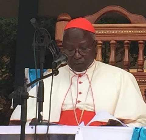 Attaques du 2 mars 2018: Le cardinal Philippe Ouédraogo invite à jeûner pour la paix au Burkina