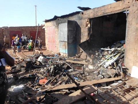 Incendie au marché de Gourcy: La solidarité des commerçants a permis d'éviter l'embrasement