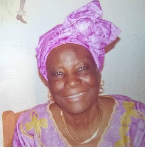 Décès  de MmeMamato Nathalie Marie Bernadette Yanaba: Faire part