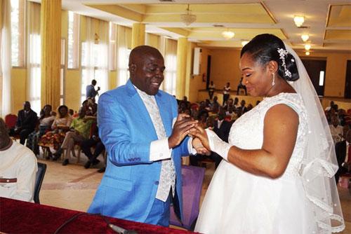 Carnet rose à l'Ambassade du Burkina en Côte d'Ivoire: Monsieur Mamadou ILBOUDO et Mademoiselle Elodie Barbara N'gbesso AKPELE, désormais, unis par les liens de mariage