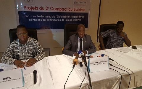 Projets du second compact du Burkina: Focus sur le domaine de l'électricité