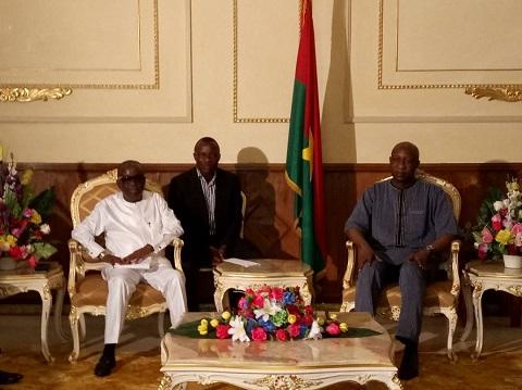 Attaques terroristes du 02 mars 2018: Le ministre ghanéen de la sécurité exprime sa compassion aux Burkinabè