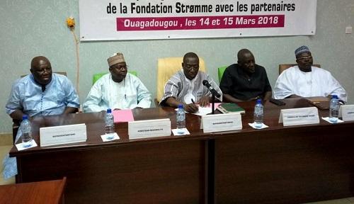 Développement: La fondation stromme en concertation avec ses partenaires pour valider son plan stratégique 2019-2023