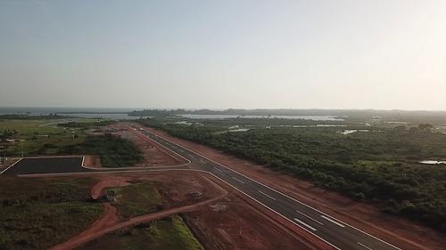Travaux aéroportuaires: EBOMAF relooke l'aéroport de San Pedro