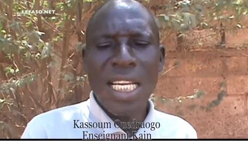 Menaces terroristes au Nord du Burkina: Le témoignage d'un enseignant