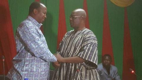 Université Ouaga II: Le Pr Adjima Thiombiano officiellement installé président