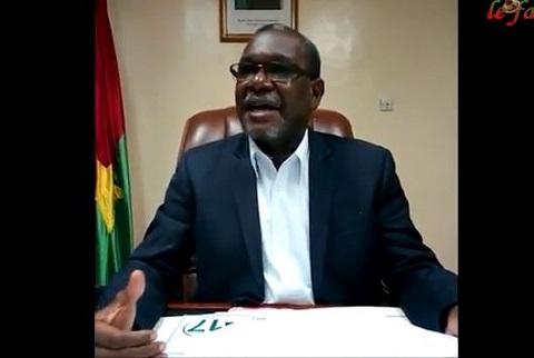 Colonel Ousmane Traoré, Gouverneur de la région de l'Est s'exprime sur la situation de Kounkoufoanou