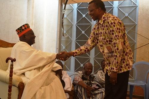 Parenté à plaisanterie Moosé et Samo: Le Mogho Naaba rebaptisé Lawoko Paré par les Samo