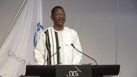 138ème Assemblée de l'UIP: Le Président Sakandé requiert un traitement humain pour les émigrés