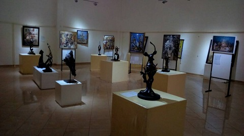 Les arts plastiques à la SNC: Un cadre d'expression des plasticiens
