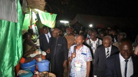 SNC Bobo 2018: Le président du Faso a visité le village des communautés