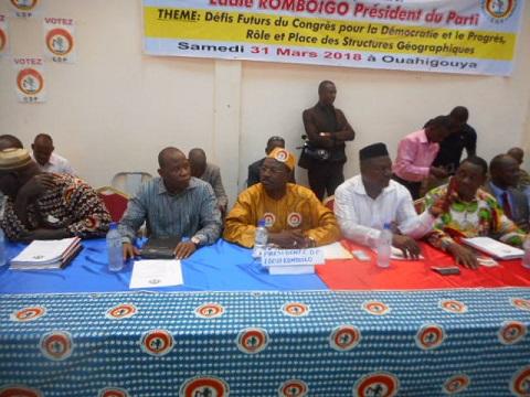 Congrès pour la Démocratie et le Progrès: Les militants de la région du Nord en convention