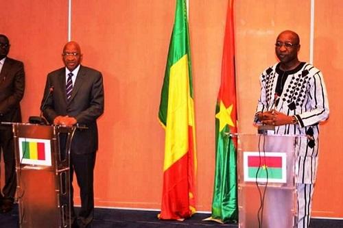 Coopération Burkina-Mali: Les deux premiers ministres parlent le même langage