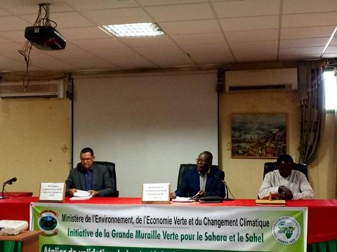Stratégie de mobilisation des ressources de la grande muraille verte: Les participants plaident pour des financements locaux