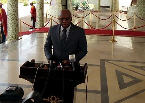 Conseil des ministres du mercredi 11 avril 2018: Le maire de la commune de Pouni suspendu