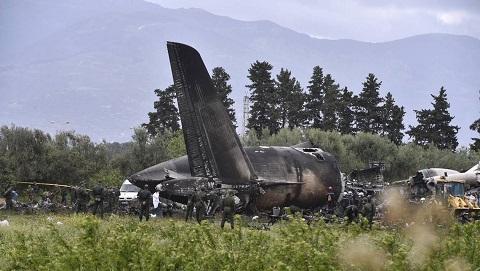 Crash d'avion en Algérie: Les autorités ont décrété trois jours de deuil