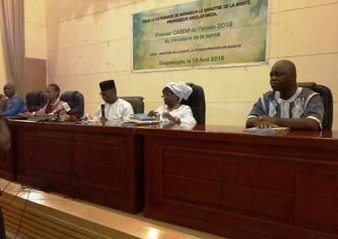 CASEM du ministère de la santé: ''Des réponses transformatrices pour relever les défis''