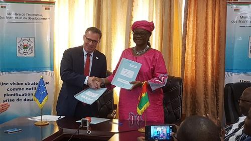 Coopération UE- Burkina Faso: La coopération accouche d'un nouveau projet de développement