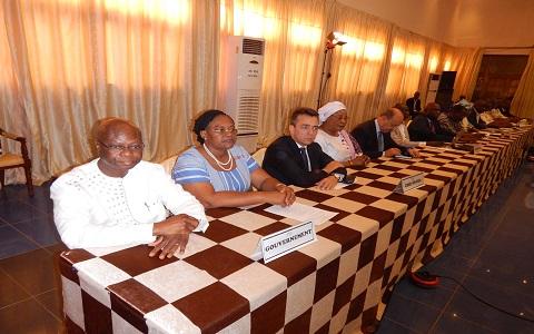 Centre d'études diplomatiques et stratégiques: La délégation du Burkina Faso  en session sur «Diplomatie et pratiques parlementaires»