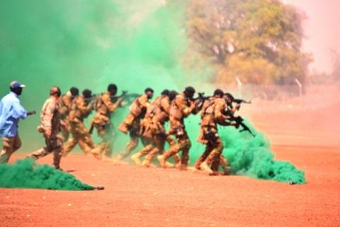 Lutte contre le Terrorisme: Tactique et méthode à Kamboincé