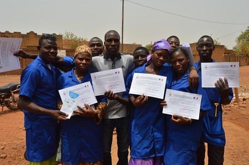 Insertion professionnelle au nord du Burkina Faso: L'ONG CREDO et l'Ambassade de France comblent le déficit des professionnels qualifiés en plomberie sanitaire à Ouahigouya