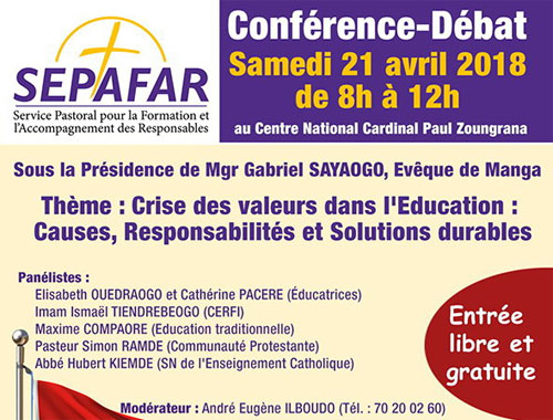 Conférence-débat du SEPAFAR sur