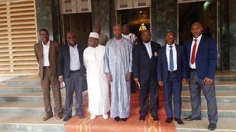 Karaté-Do: Des responsables chez Paul Kaba Thieba