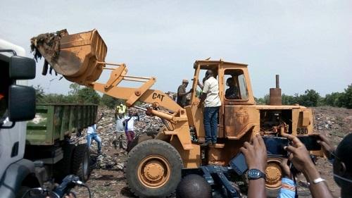 Enlèvement des ordures sur le domaine du stade Sangoulé Lamizana de Bobo: Le top de départ est donné