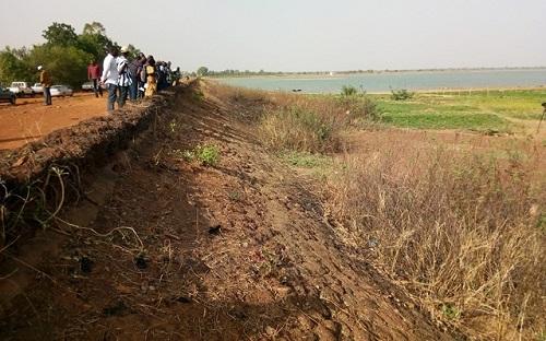 Assèchement du barrage de Loumbila: L'Agence de l'eau du Nakanbé appelle au secours