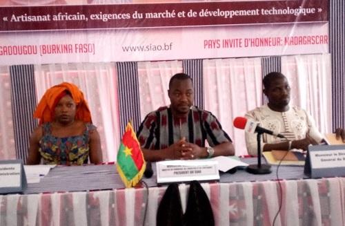 Salon international de l'artisanat de Ouagadougou: La 15e édition a lieu du 26 octobre au 04 novembre 2018
